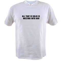 is melting t-shirt