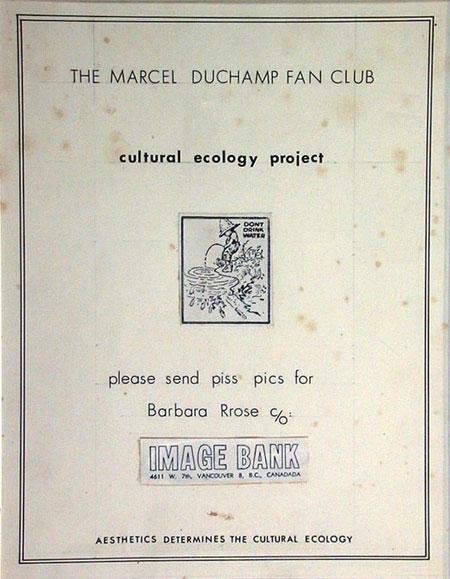 marcel duchamp fan club