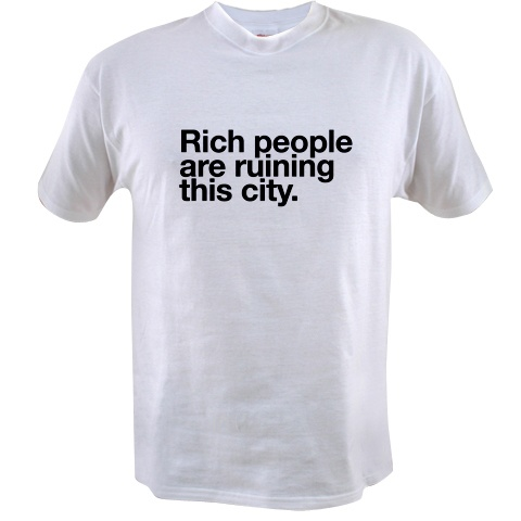 rich people t-shirt