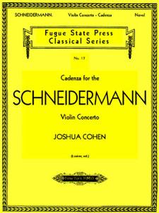 cadenza for the schneidermann violin concerto